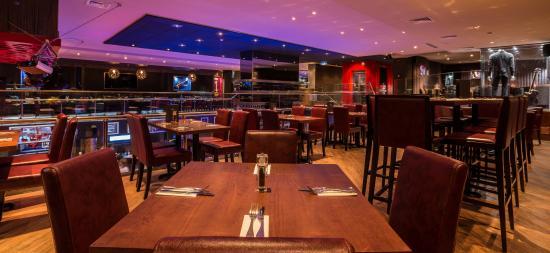 Hard Rock Cafe: Our restaurant (inside view)