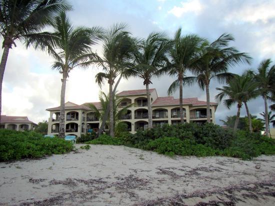 Pelican Cove Condos: Condo view from beach