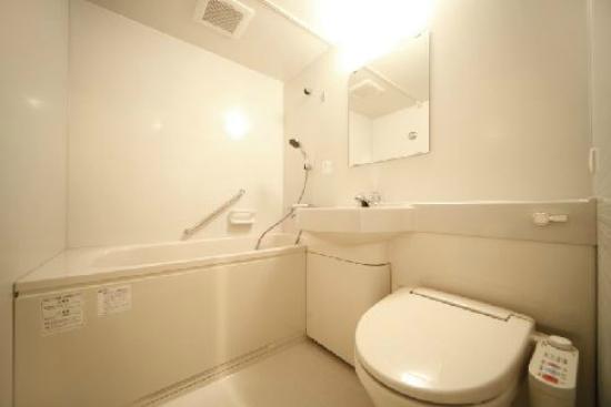 Asakusa Hotel Hatago: バスルーム Bathroom