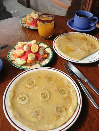 Kori Bali Inn: Breakfast! Yum!
