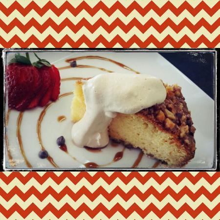 Lauren's: Souther Comfort & nut cake