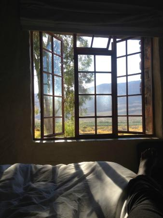 Mount Ceder Guest Cottages: View from our window