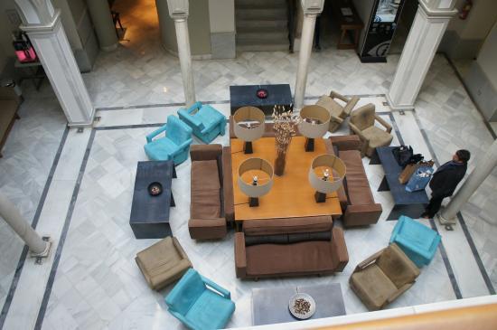 Petit Palace Marques Santa Ana: Lobby