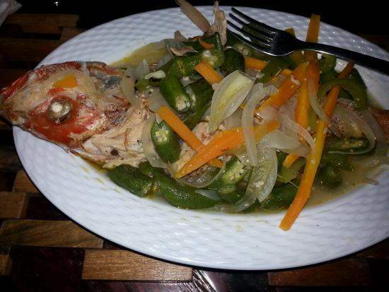 Excellent steamed fish picture of chill out hut for Jamaican steam fish