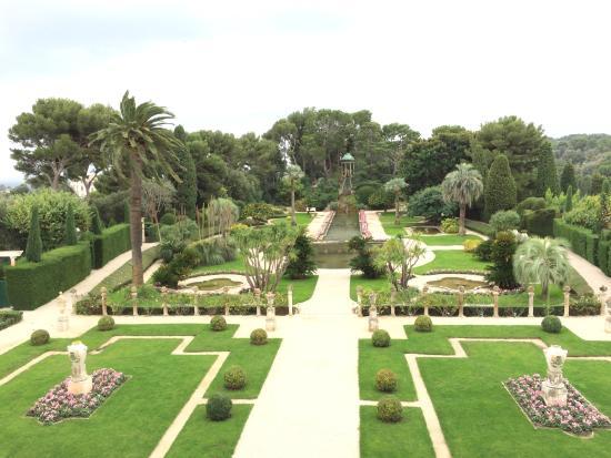 Cap Ferrat View from Villa Ephrussi de Rothschild - Picture of Villa ...