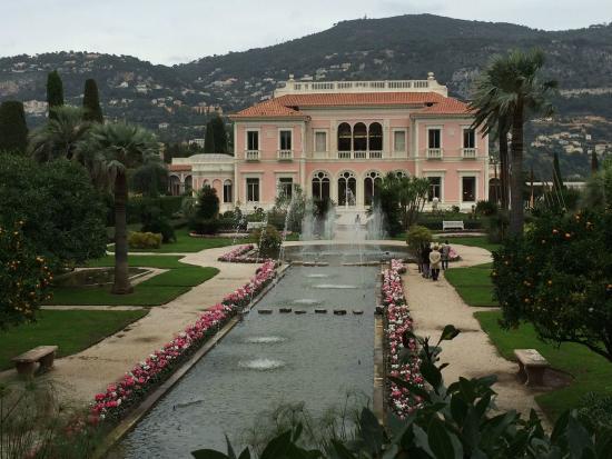 la villa - Picture of Villa & Jardins Ephrussi de Rothschild, St ...