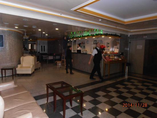 Actor Hotel: Reception