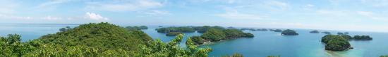 Hundred Islands National Park : Governor's Island Viewing Deck