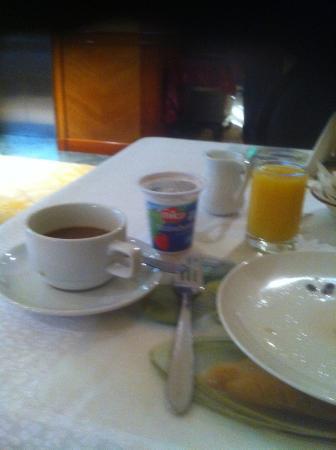 Howard Johnson Hotel Abu Dhabi: Kontinental Frühstück