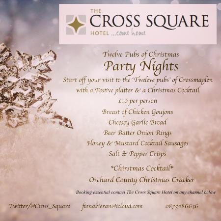 Cross Square Hotel: 12 pubs of Christmas Crossmaglen