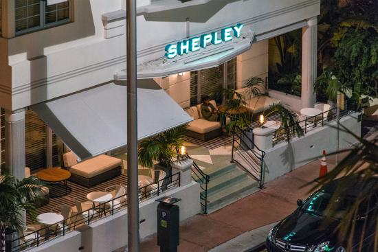 The Shepley Hotel At Night