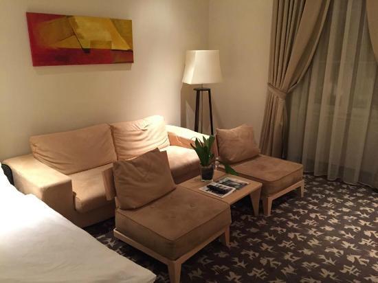 Buda Castle Fashion Hotel: Living Area