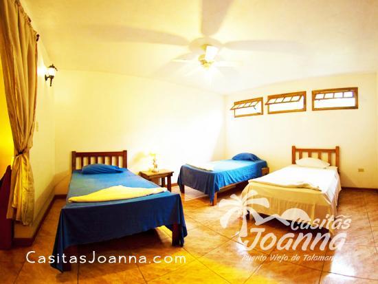 Casitas Joanna: Guest Bedroom (first floor)