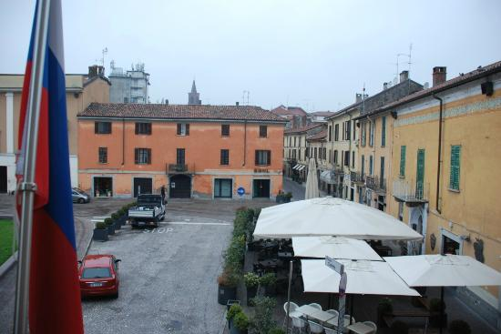 Nuovo Albergo Italia: view from the room