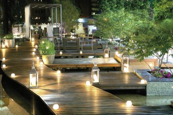 Restaurante en jardin fotograf a de eurostars suites for Restaurante jardin