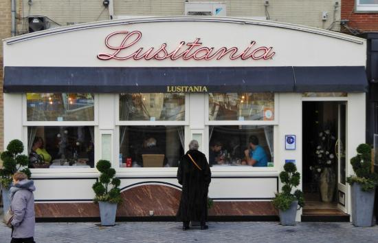 Lusitania : Traditionsrestaurant in Ostende
