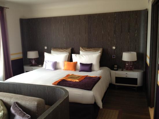 Hotel de Paris Saint-Tropez: La suite vue port