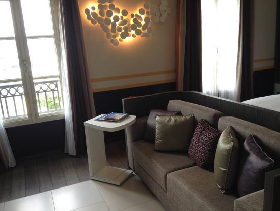 Hotel de Paris Saint-Tropez: Petit coin salon