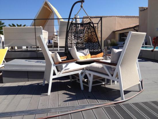 Hotel de Paris Saint-Tropez: transat