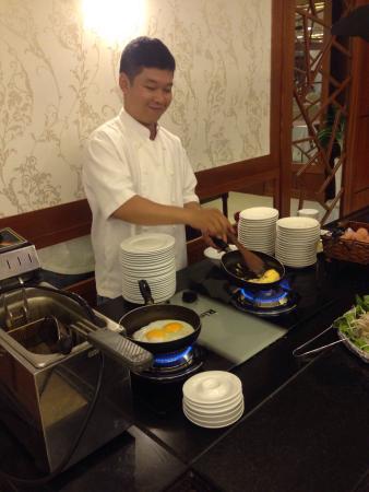 Vien Dong Hotel: Cracking Choice breakfast