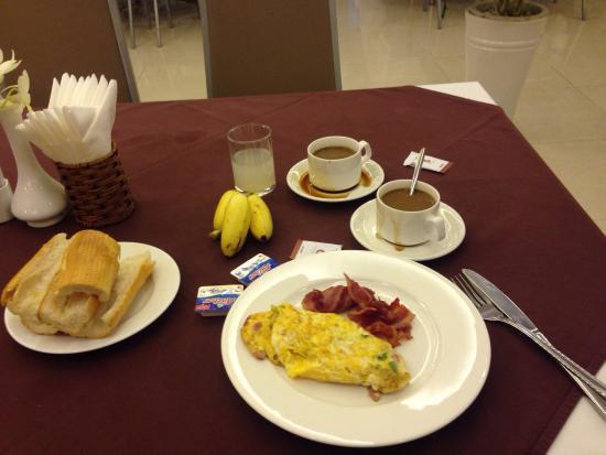 Vien Dong Hotel: Tasty