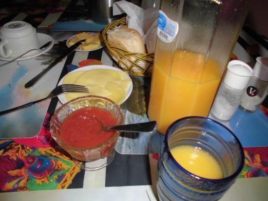 Casa Ana Garcia (Anairis): kahvaltı