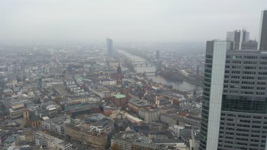 vista Main Tower Francoforte centro
