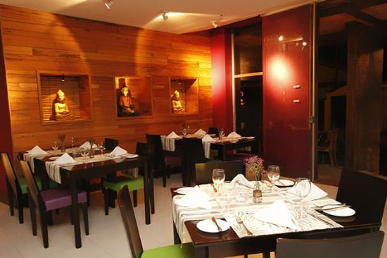 Hotel Anaca: Restaurante caju sushi bar