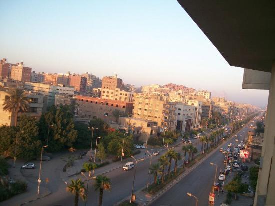 Aracan Pyramids Hotel: Window view