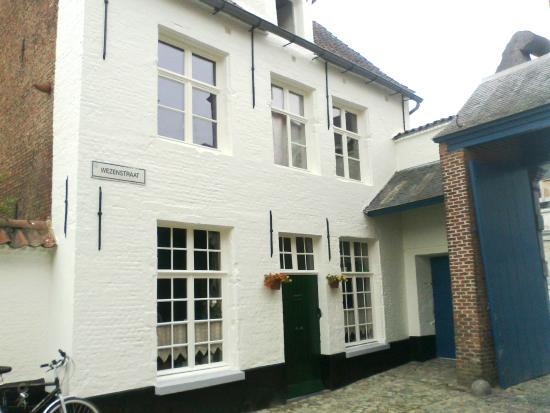 Begijnhof Lier: het portieresshuisje