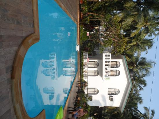 Albuquerque Holiday Villas Goa: Pool area