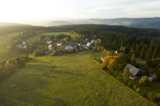Landschafts-Gasthaus Bräutigam Hanses: Luftbild Schanze