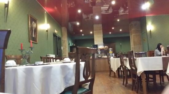 Hotel De La Poste : salee restaurant
