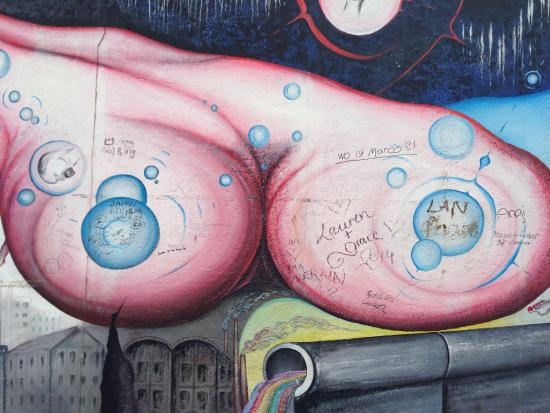 Pomnik Muru Berlińskiego: Muro