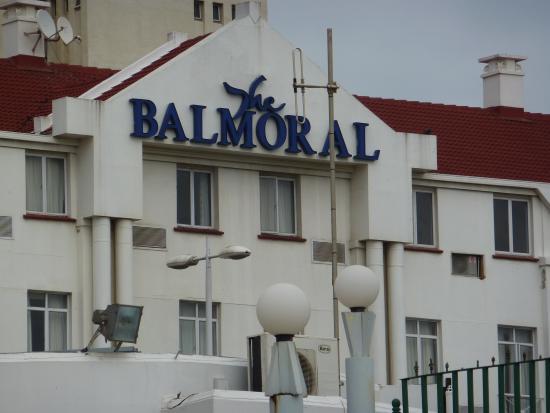 Balmoral Hotel: façade de l'hôtel
