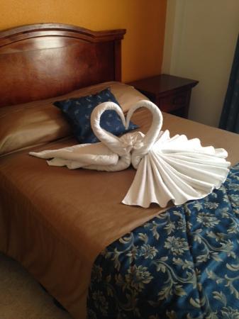 Hotel Plaza Campeche: Letto