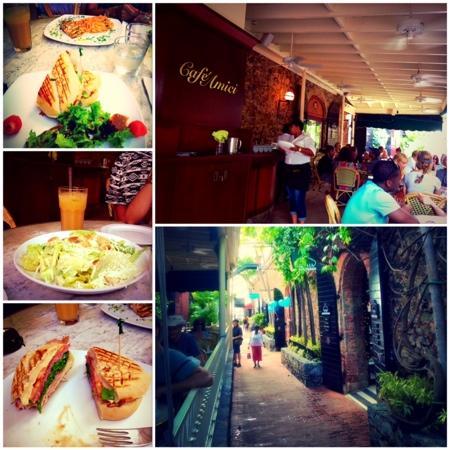 "Cafe Amici : panini  ""standar sandwich"""
