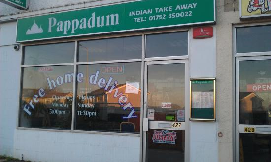 Pappadums Indian Takeaway