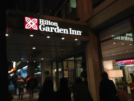 Shower Picture Of Hilton Garden Inn Times Square New York City Tripadvisor