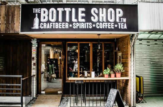 The Bottle Shop: Front Door