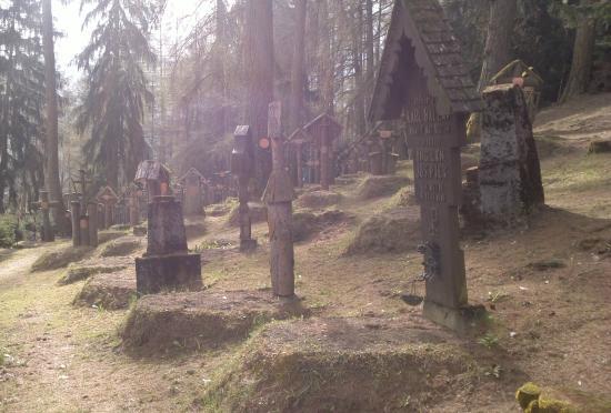 Cimitero Austro-Ungarico di Brunico: scorcio di sezione sinistra del cimitero
