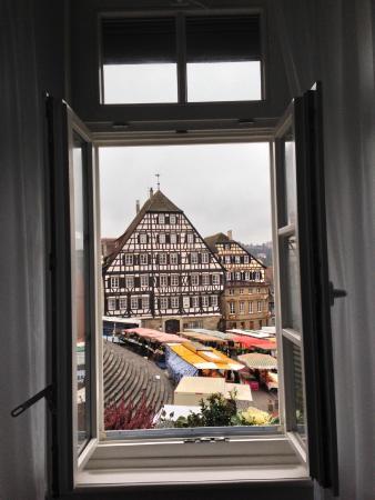Hotel Restaurant Goldener Adler : View from the room