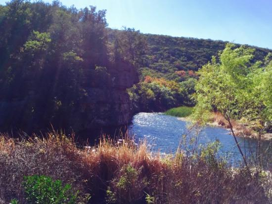 Frio River Cabins: Lost Maple Park in Fall