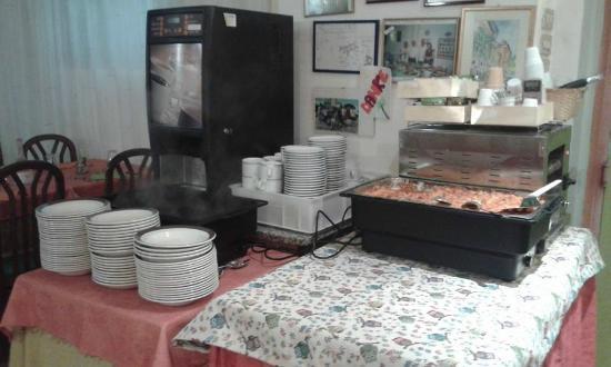 Hotel Zucconi: Sala da pranzo