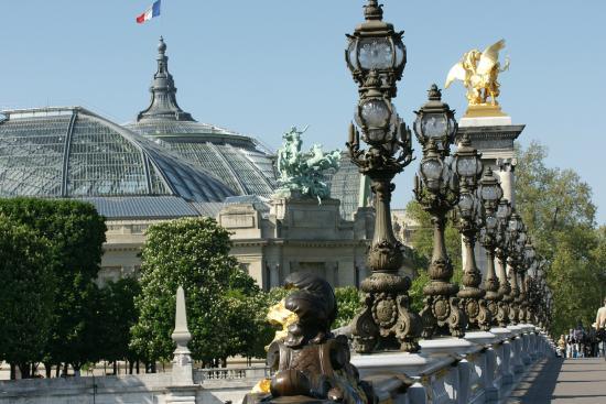Paris la seine pont alexandre iii petit palais for Alexandre jardin le petit sauvage