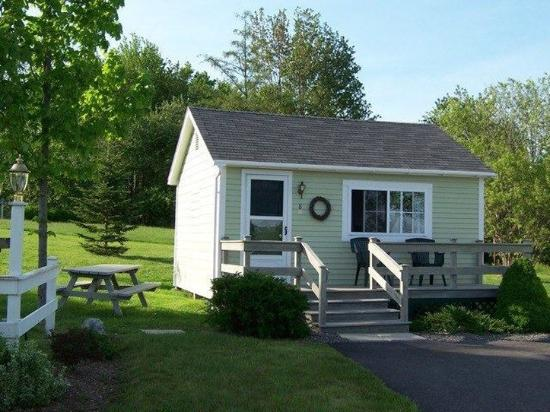 Seascape Motel and Cottages: Studio Cottage- Exterior, 1K, kitchen & full bath