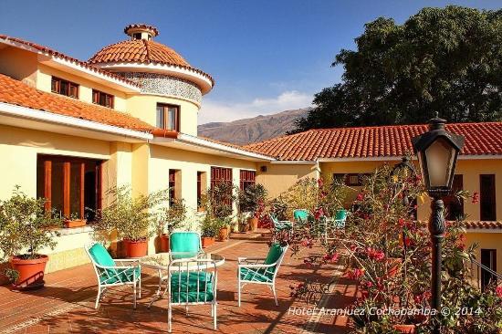Hotel Aranjuez Cochabamba: Terrace