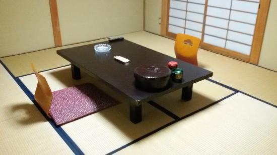Hotel Kosho : Sitting area in room
