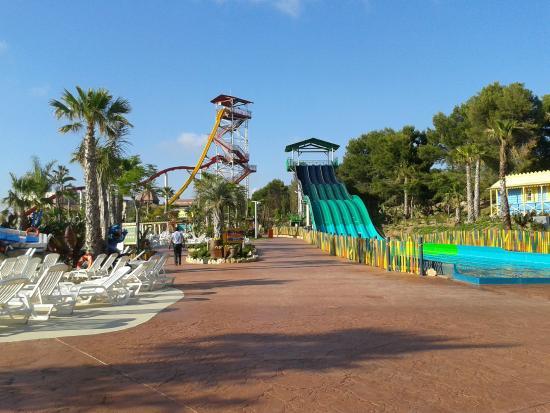 caribe aquatic park el tobogn ms alto de europa