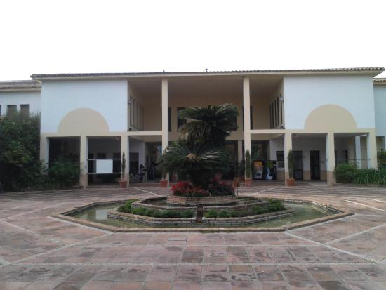 Jardin Botanico de Cordoba: Главный вход в сад (вид изнутри)